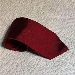 Brooks brothers red silk tie.